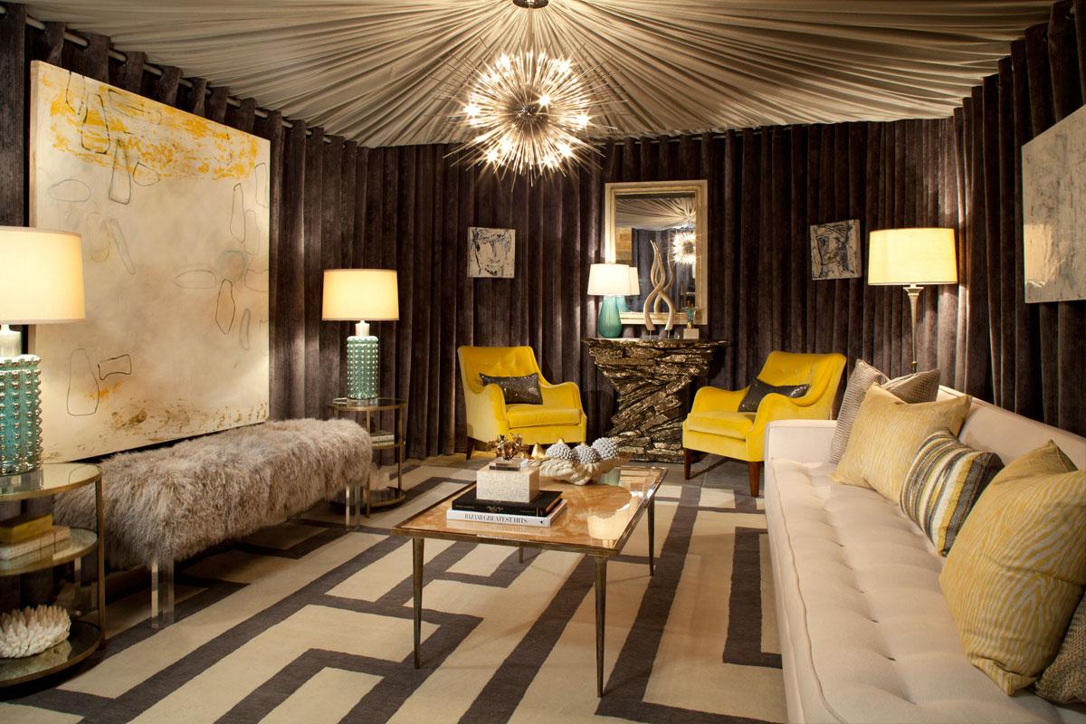 villa de luxe showhouse bankston may associates. Black Bedroom Furniture Sets. Home Design Ideas