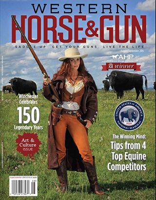 Western Horse and Gun Magazine Aug/Sept 2016