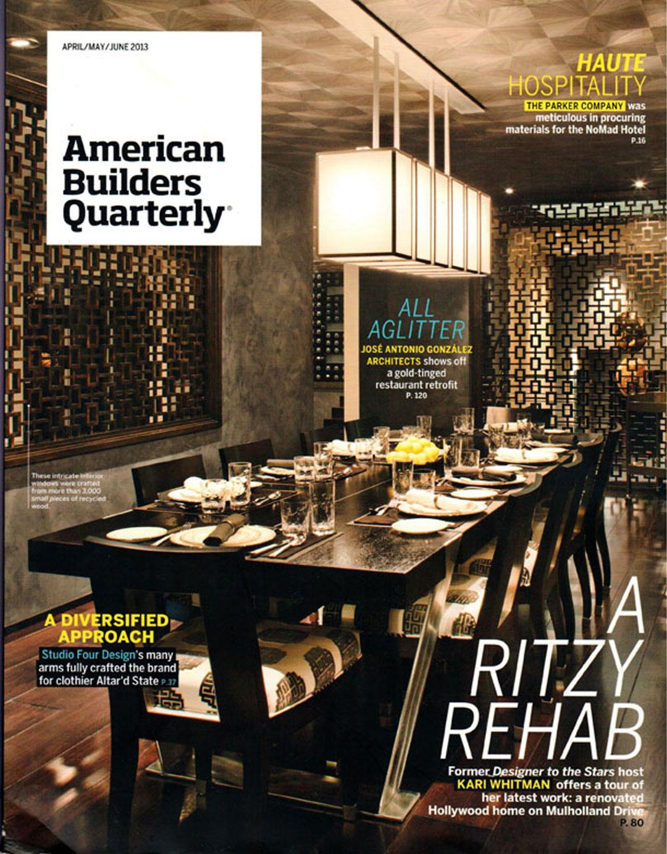 Bankston may associates commercial residential - Ranch americain poet interiors houston ...