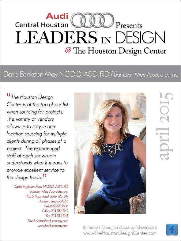 The Houston Design Center - Leaders in Design April 2015